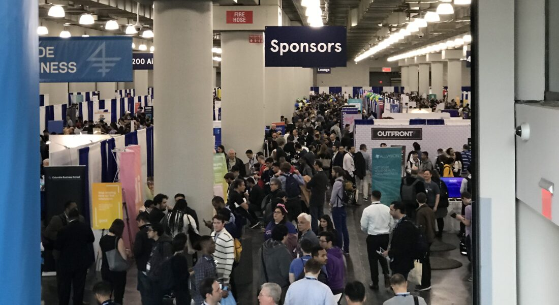 Part of the crowd at TechDay New York 2019.