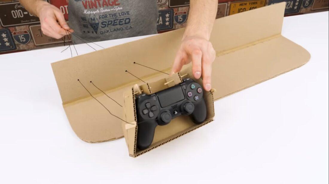 cardboard driving controller