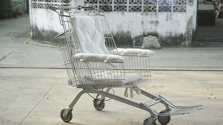 shopping cart wheelchair