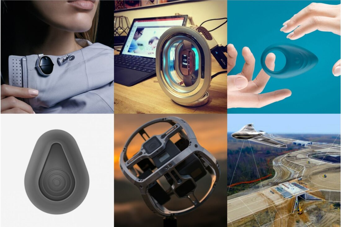 Some of the hardware startups featured in Arkley's online portfolio.