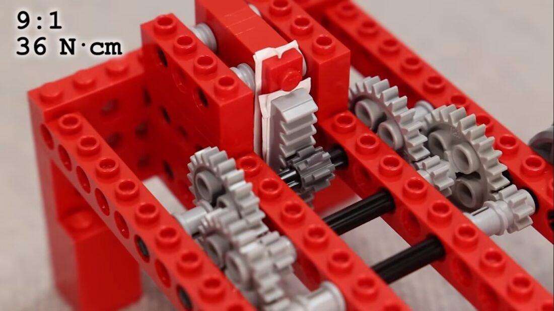 smallest LEGO piece pressure test