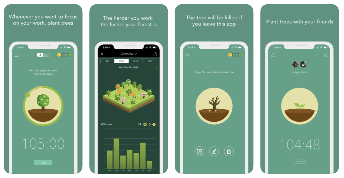 Forest Focused App