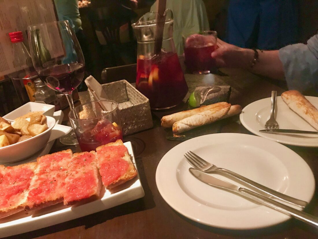 "WAIT. Before you say ""tapas and sangria,"" don't worry. I already done did that one. Barcelona, Spain."