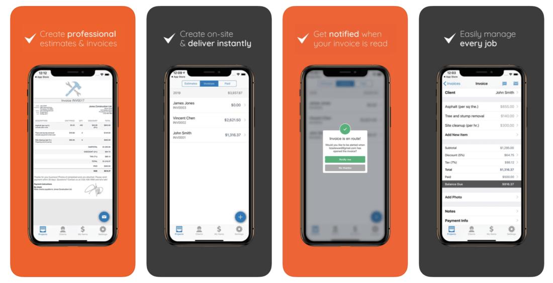 Invoice Simple, Estimate Maker