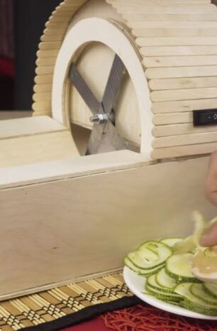 Who Needs a Knife? How to Make a Food Slicer from Wood