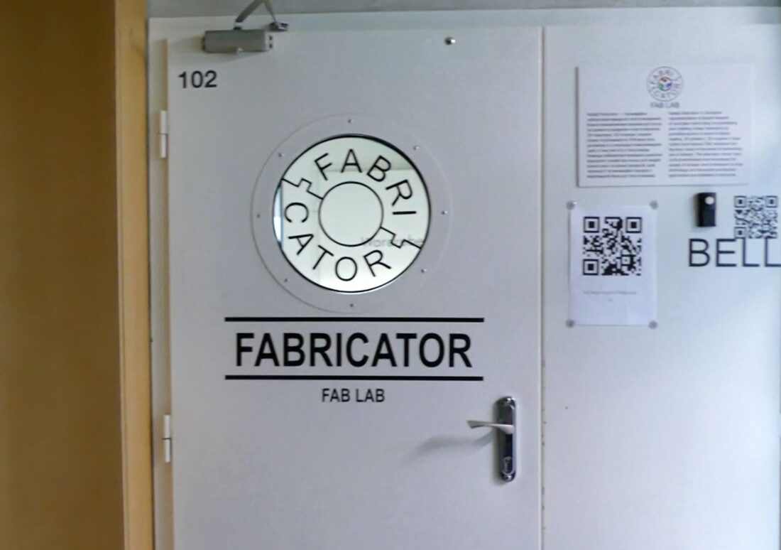 Fabricator fablab at UNIT.City in Kiev, Ukraine.
