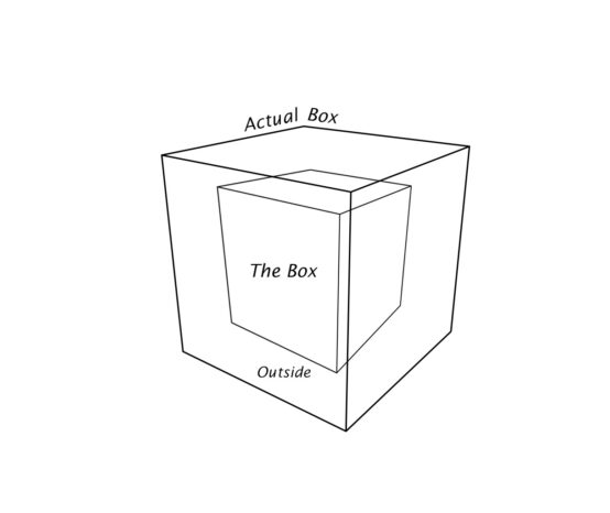 """Let's Stop Saying """"Think Outside the Box"""""""