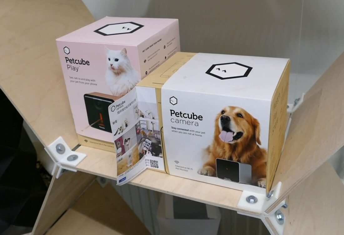 Petcube is one of the projects worked on at Concepter in Kiev, which lets you freak out your pets with robotics when you're not at home!