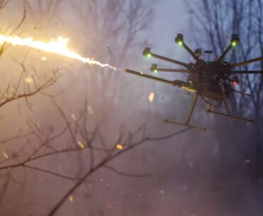 tf-19 wasp flamethrower drone