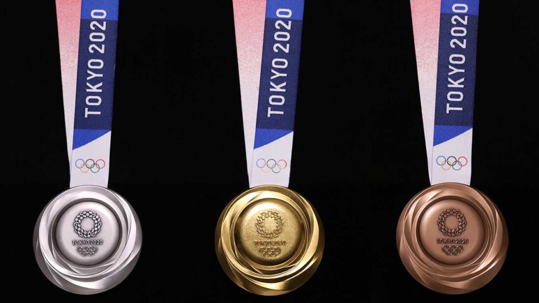 tokyo recycled medals