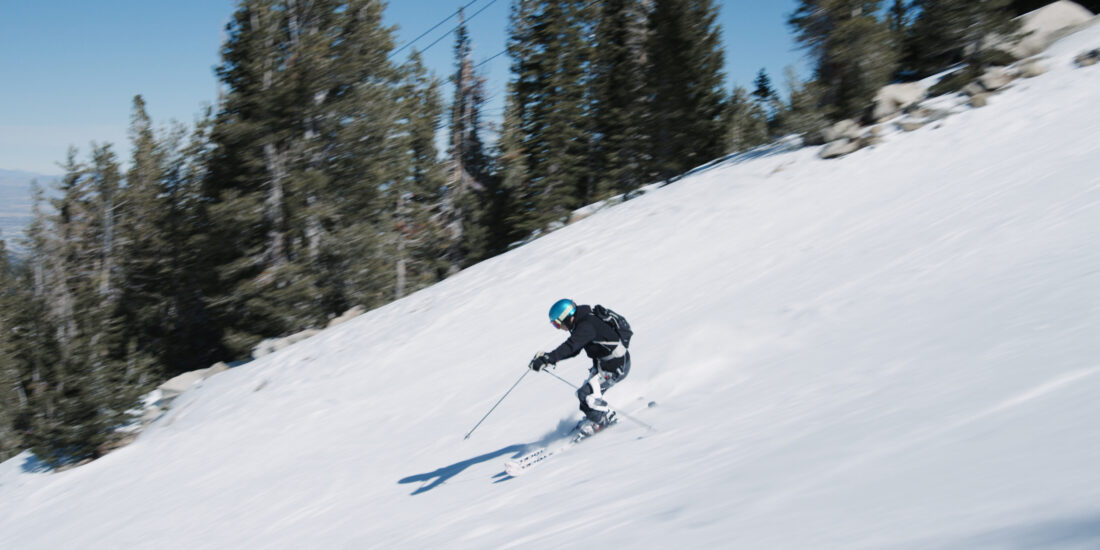Roam Robotics' ski exoskeletons put to use on a skier! Would you believe this athlete is 95-years-old?! Well, you shouldn't, because that's not true. But he's not 18 anymore, either.