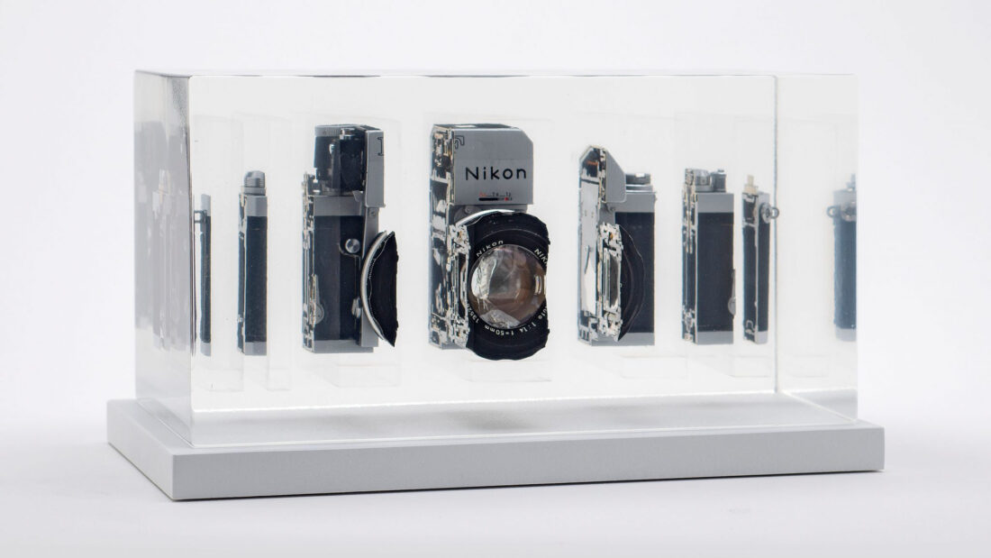 Mind Blown: These Cameras Were Sliced and Reassembled in Resin