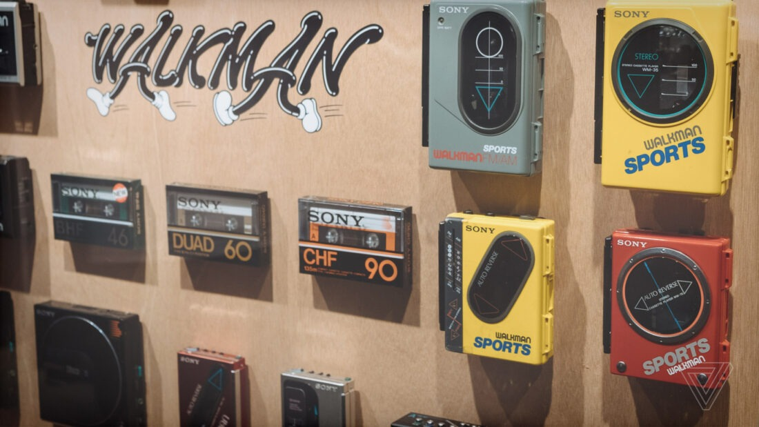 Sony Celebrates 40 Years of Walkman Design