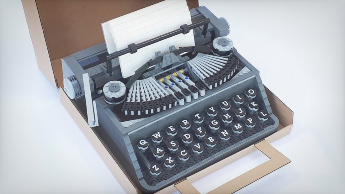 This Functioning LEGO Typewriter Might Go Into Production