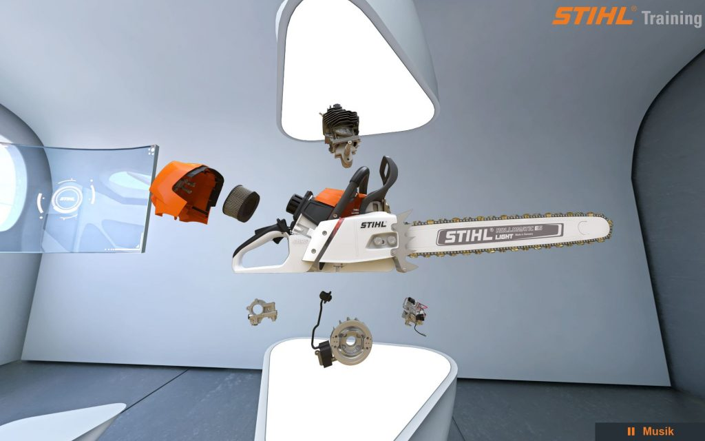 STIHL training vr