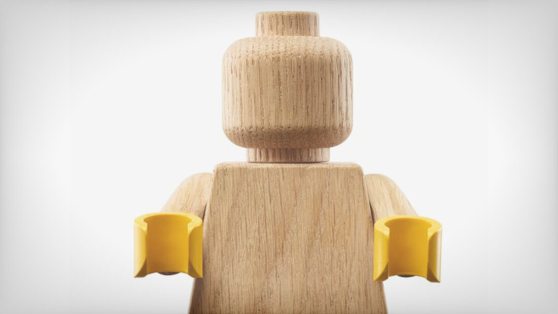DESIGN LEGO's Latest Limited Edition Product is a 5:1 Upscaled Wood Minifigure