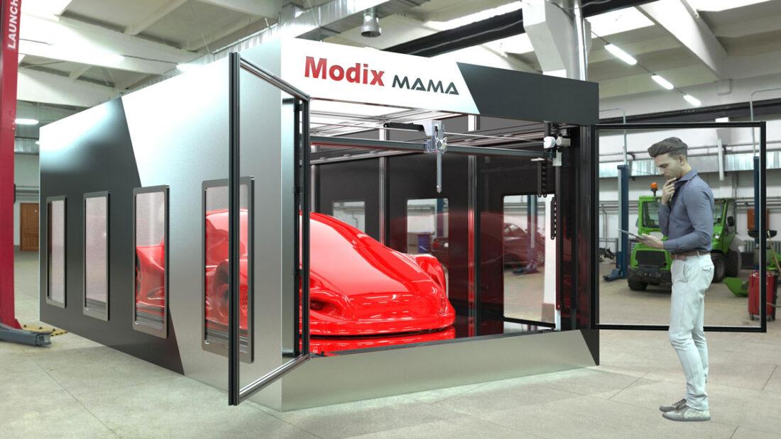 Modix Mama Car Factory 3D Printer