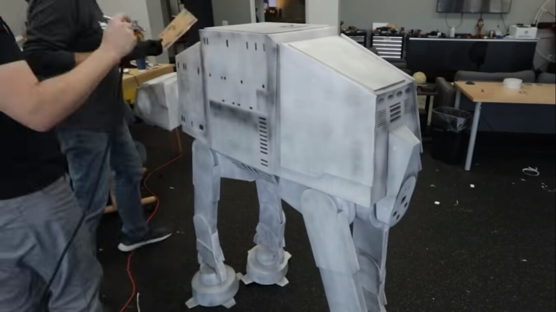 AT-AT tripping drone