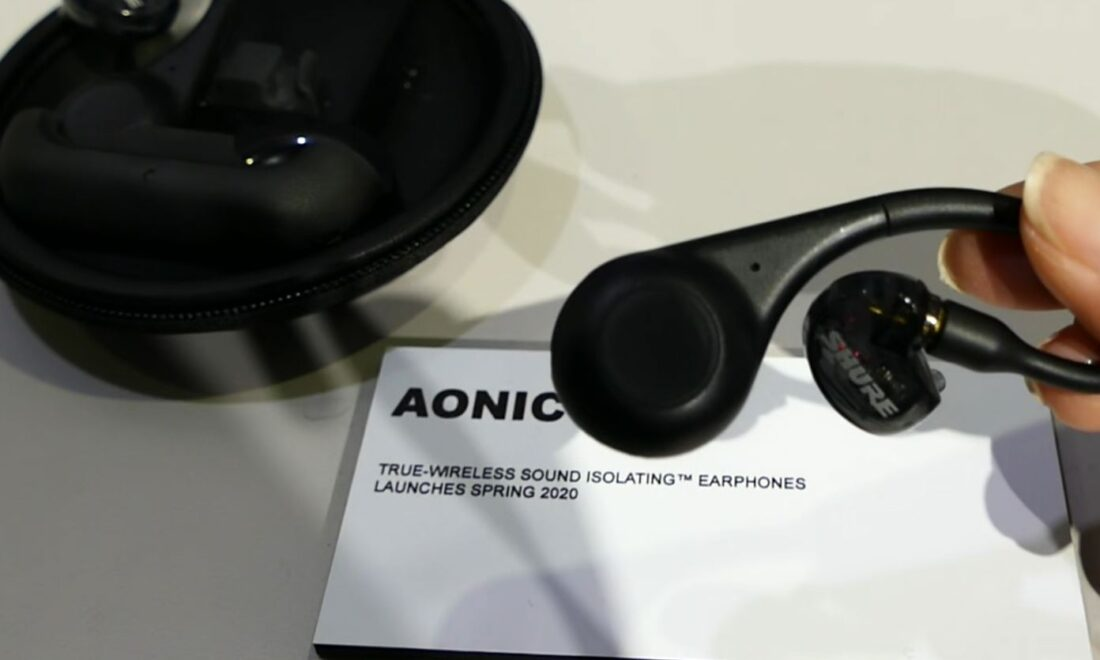 Shure's true wireless earphones managed to impress Anthony Mattana of Hooke Audio.