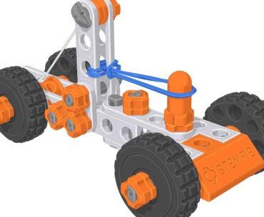 STEM 3D Printed Construction Set Projects