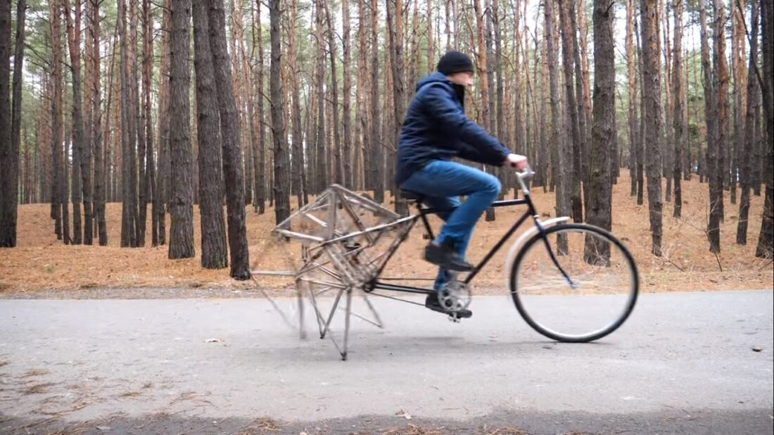 walking bicycle