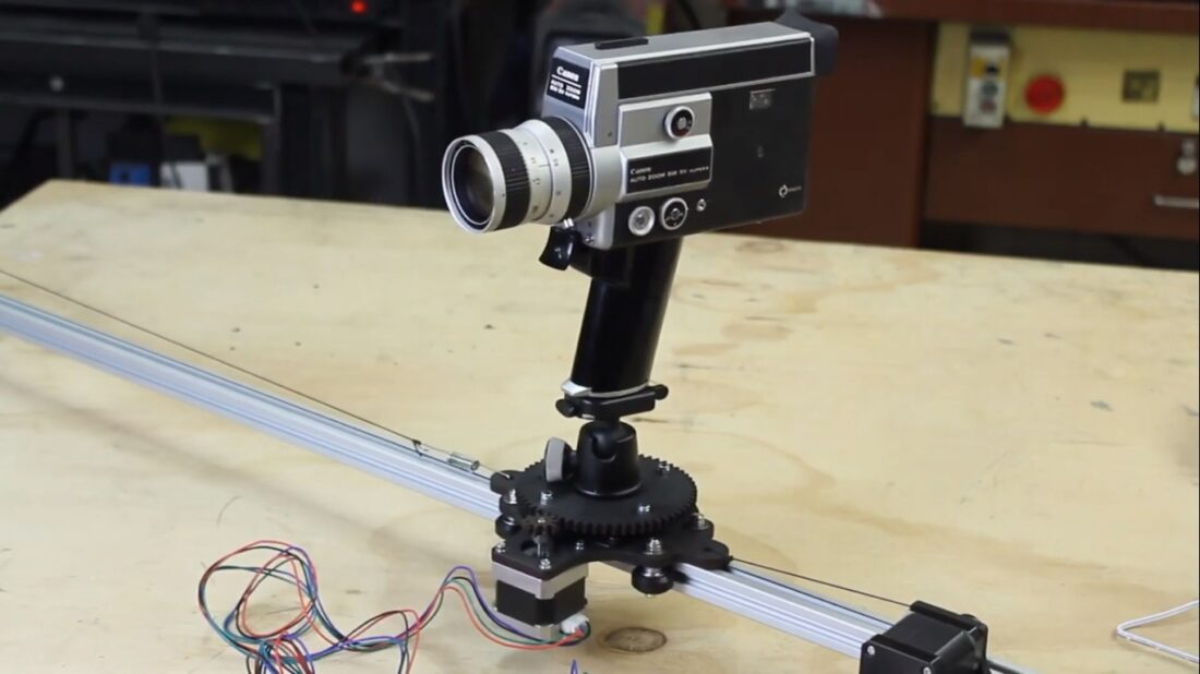CNC camera slider