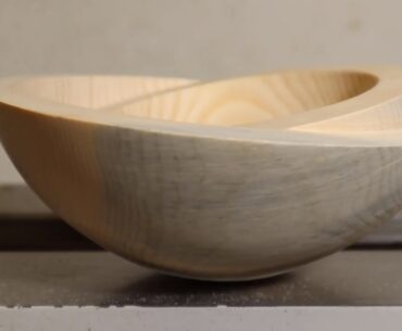 Woodturning bowl in bowl