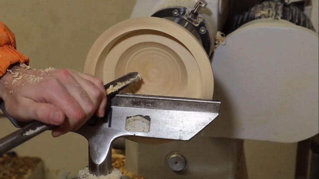 Woodturning bowl in bowl