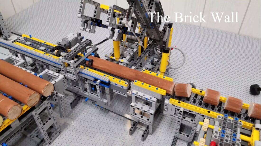 LEGO Firewood Factory
