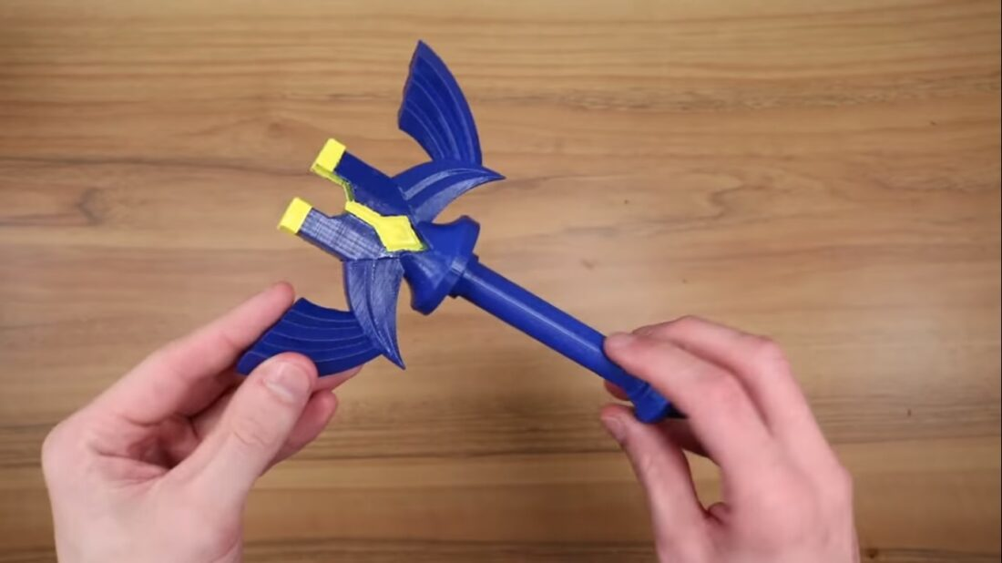 Master Sword 3D printed case