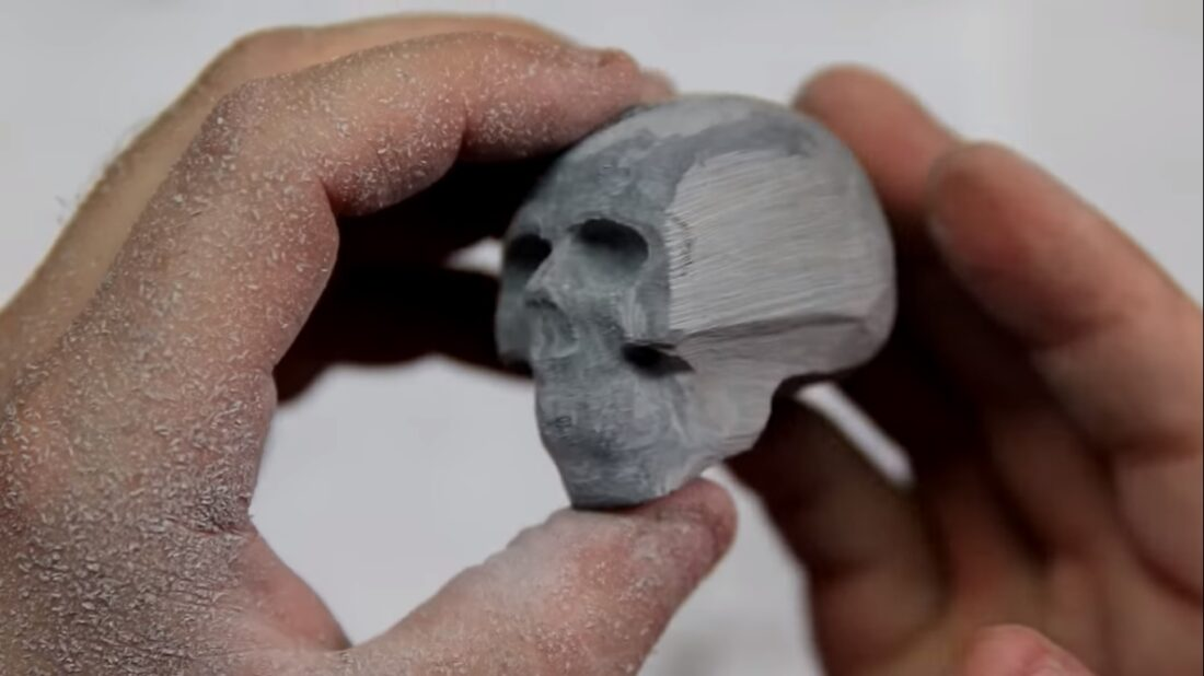 billiard ball skull
