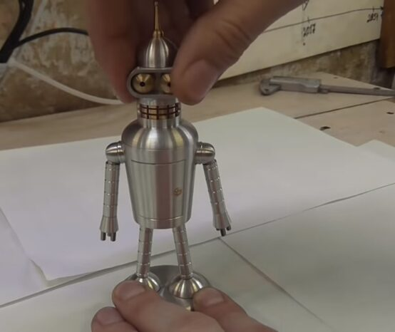 """How To Make A CNC Machined Bender From """"Futurama"""""""
