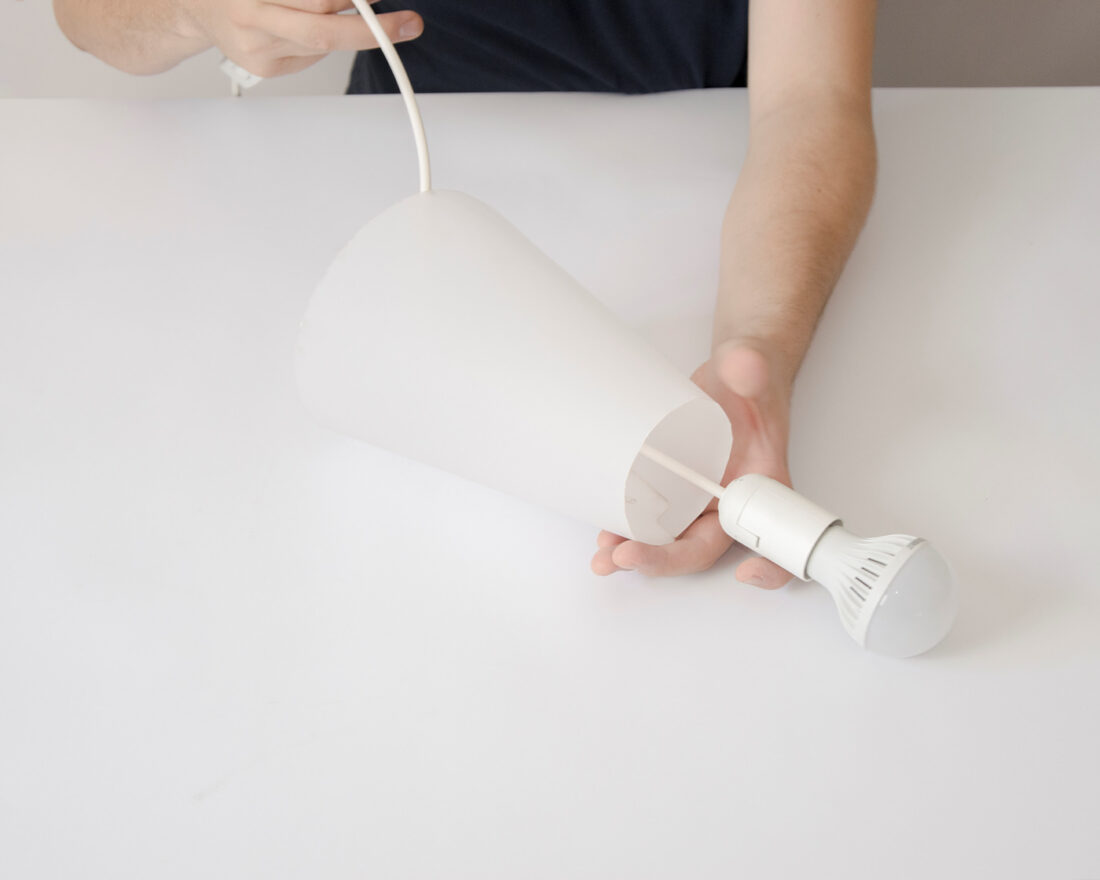 lamina paper lamp