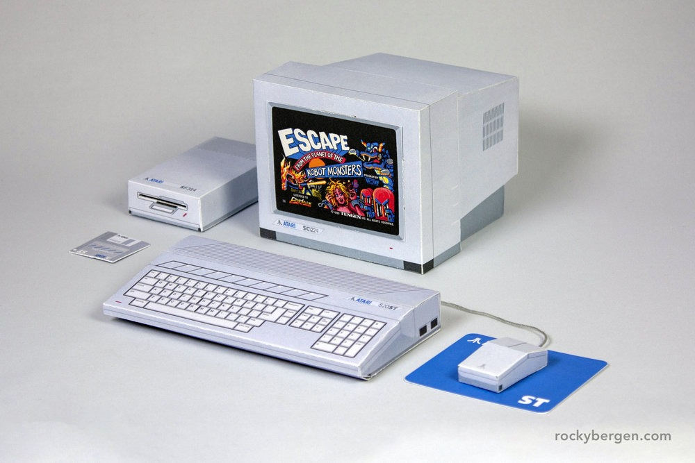 Papercraft computers