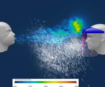 Dassault Systemes COVID-19 Coronavirus Sneeze Simulation