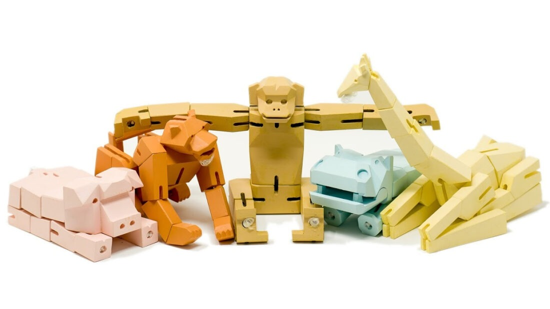mofu folding puzzle toy