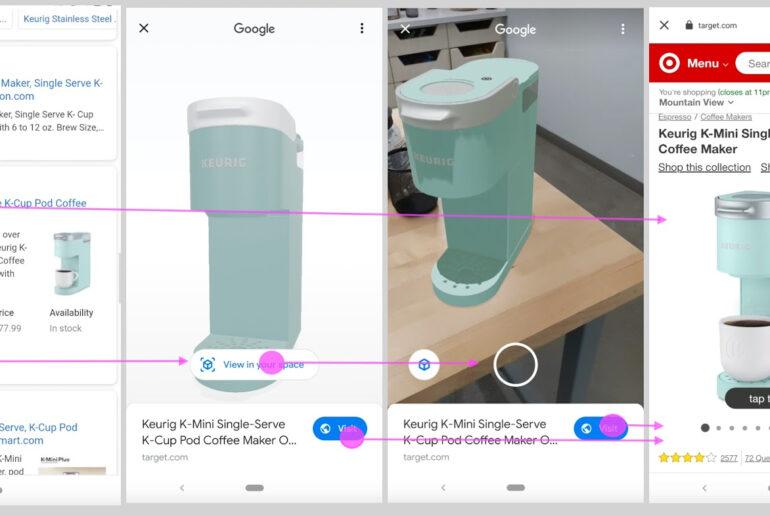 google search 3D AR