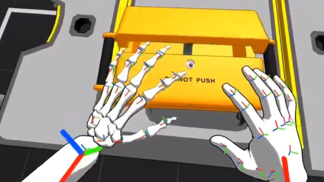 Hand Physics Lab Oculus Quest VR 2020