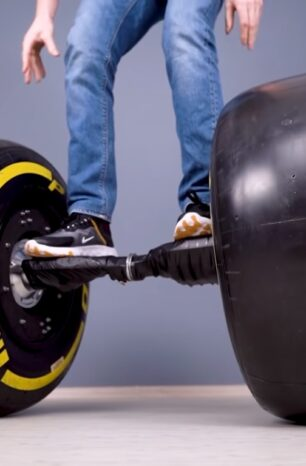 What Happens When You Put Formula 1 Wheels On A Hoverboard?