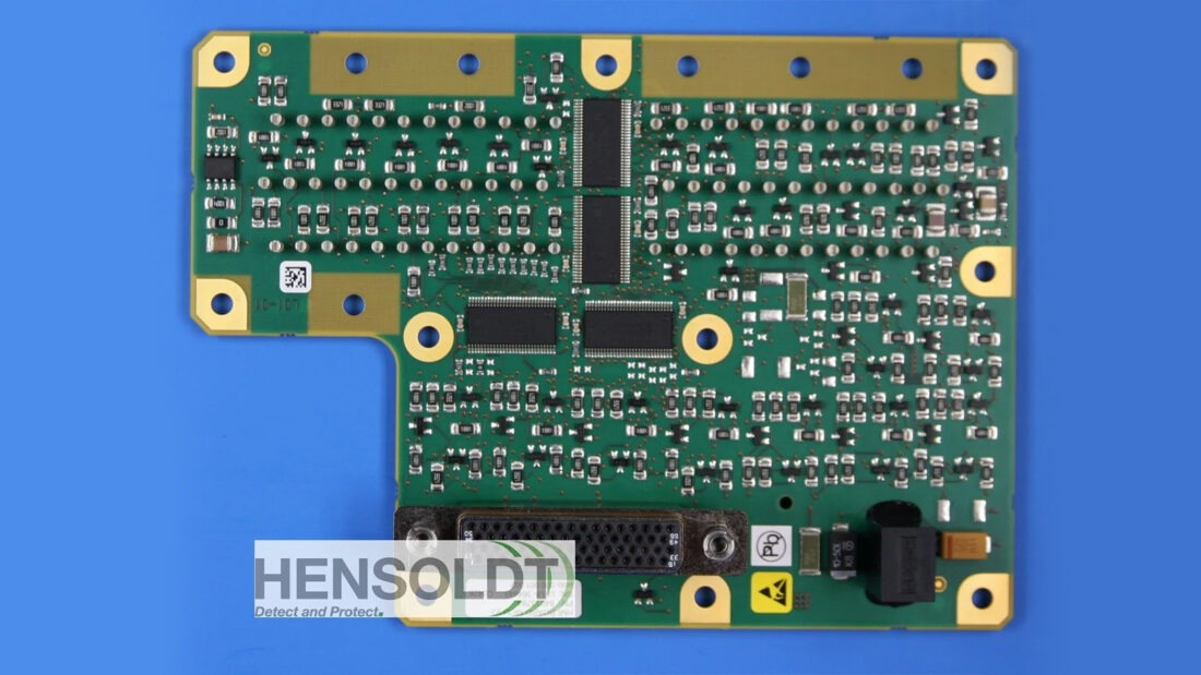 Nano Dimension HENDSOLDT 3D Printed PCB