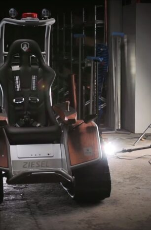 The MATTRO Ziesel is An Off-road EV Powerhouse