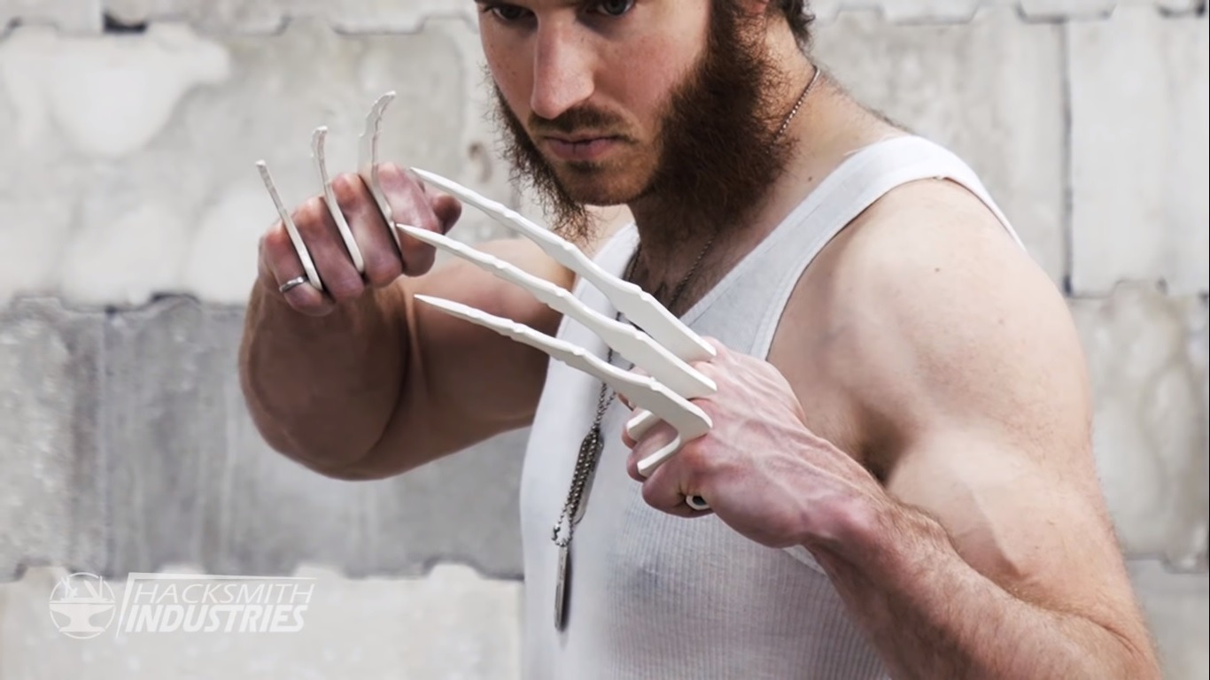 wolverine bone claws