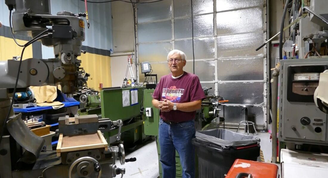 Inside the metal and machine shop at TinkerMill.