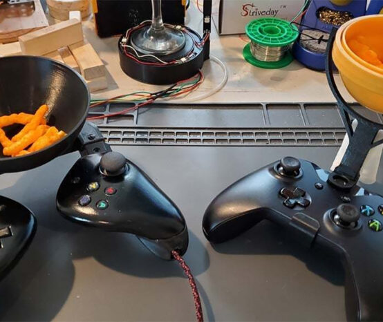 Model of the Week: Xbox One Gyro Snack Bowl [Jump In… TO A SNACK]
