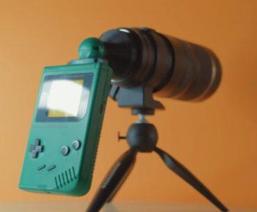 gameboy camera mod