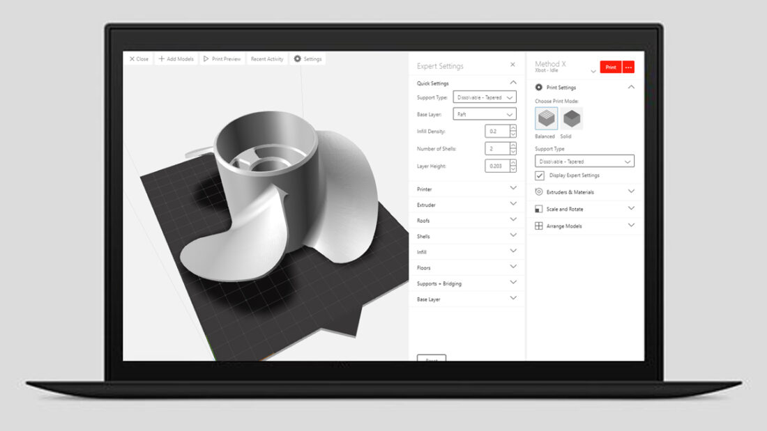 Makerbot Cloudprint