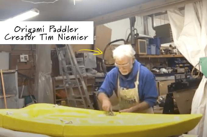 origami paddler