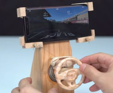 DIY racing game controller
