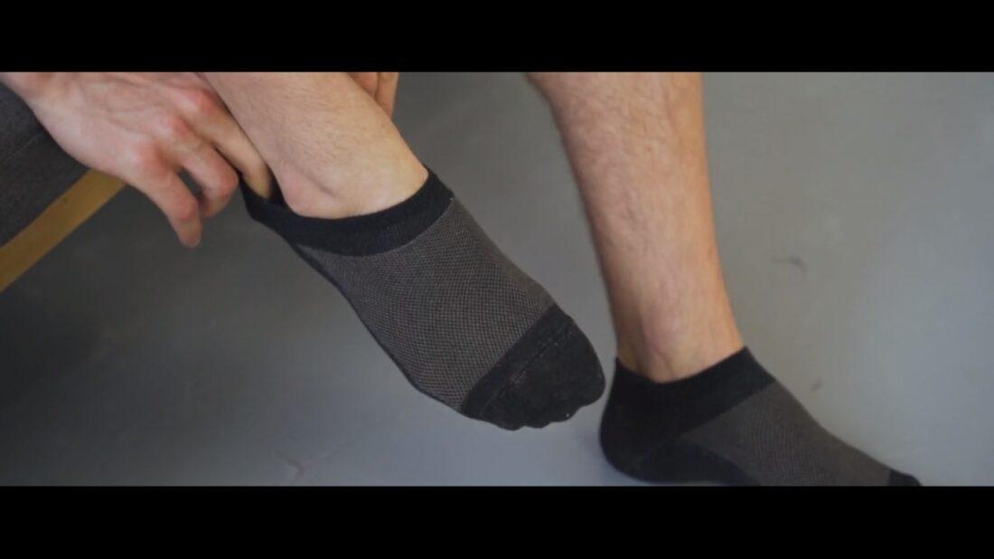 silver ankle socks