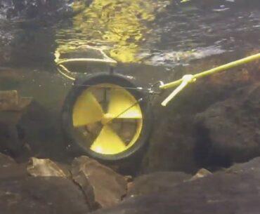 waterlily portable turbine